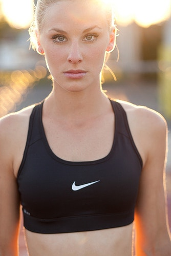 Kristy Conti sports athlete fitness model Tobias Hibbs portrait sunset Nike THP - Editorial Fashion Portrait Photography Lehigh Valley Philadelphia | Tobias Hibbs