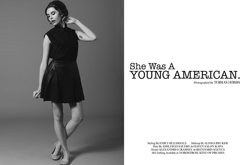 Six One Zero Magazine Spring 2014 - Editorial Fashion Portrait Photography Lehigh Valley Philadelphia | Tobias Hibbs