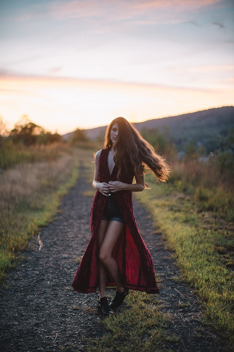 Breanna Marie THP Tobias Hibbs fashion editorial Palmerton PA portrait sunset nude topless - Editorial Fashion Portrait Photography Lehigh Valley Philadelphia | Tobias Hibbs
