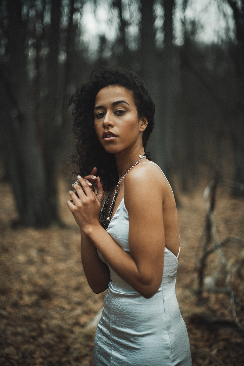 Malika Model Management Agency beauty woods forest model Tobias Hibbs fashion editorial published THP portrait Fruk Magazine published - Editorial Fashion Portrait Photography Lehigh Valley Philadelphia | Tobias Hibbs