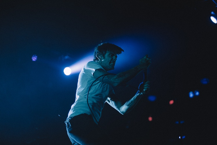 Circa Survive Electric Factory Philadelphia live music concert Anthony Green rage - Editorial Fashion Portrait Photography Lehigh Valley Philadelphia | Tobias Hibbs