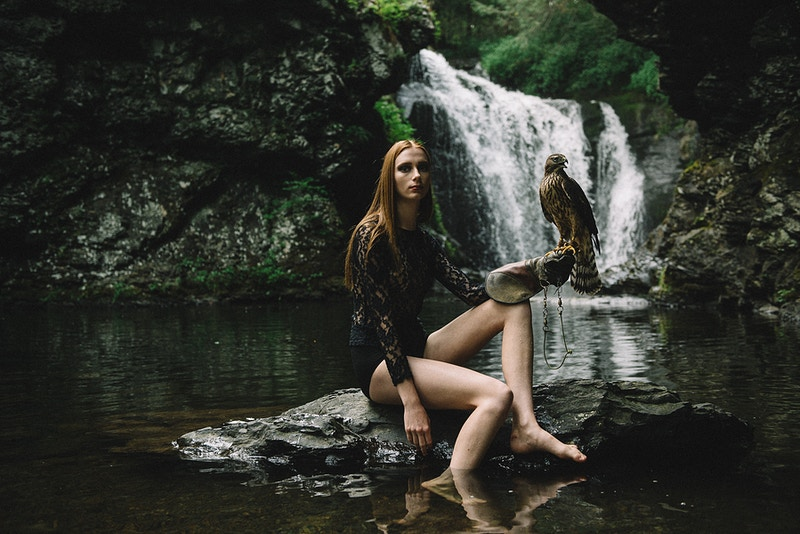 Call Of The Wild Polisart - Editorial Fashion Portrait Photography Lehigh Valley Philadelphia | Tobias Hibbs