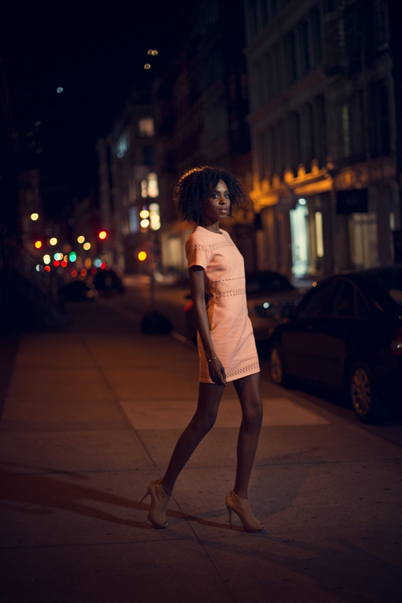Cobbler Concierge Company lifestyle NYC nighttime Tobias Hibbs Fawn Monique MUA Alisha Nycole New York - Editorial Fashion Portrait Photography Lehigh Valley Philadelphia | Tobias Hibbs