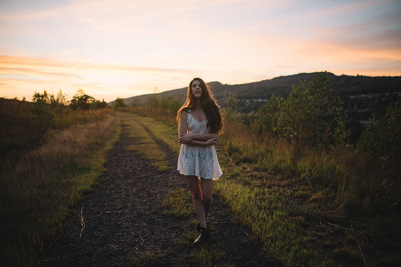 Breanna Marie THP Tobias Hibbs fashion editorial Palmerton PA portrait sunset - Editorial Fashion Portrait Photography Lehigh Valley Philadelphia | Tobias Hibbs