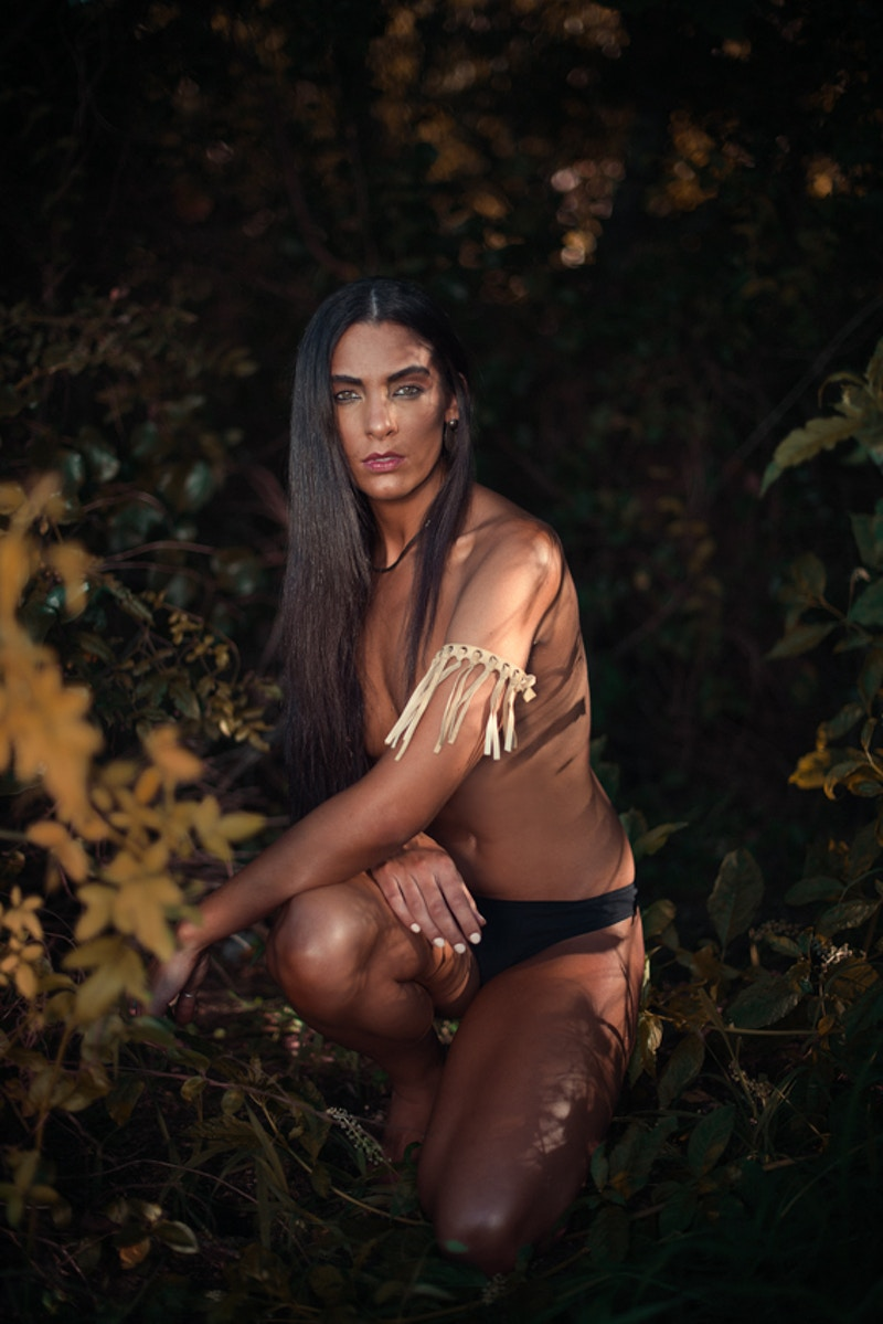 Paris fashion editorial published Tobias Hibbs model THP Fawn Monique MUA Native American history authentic nude topless - Editorial Fashion Portrait Photography Lehigh Valley Philadelphia | Tobias Hibbs