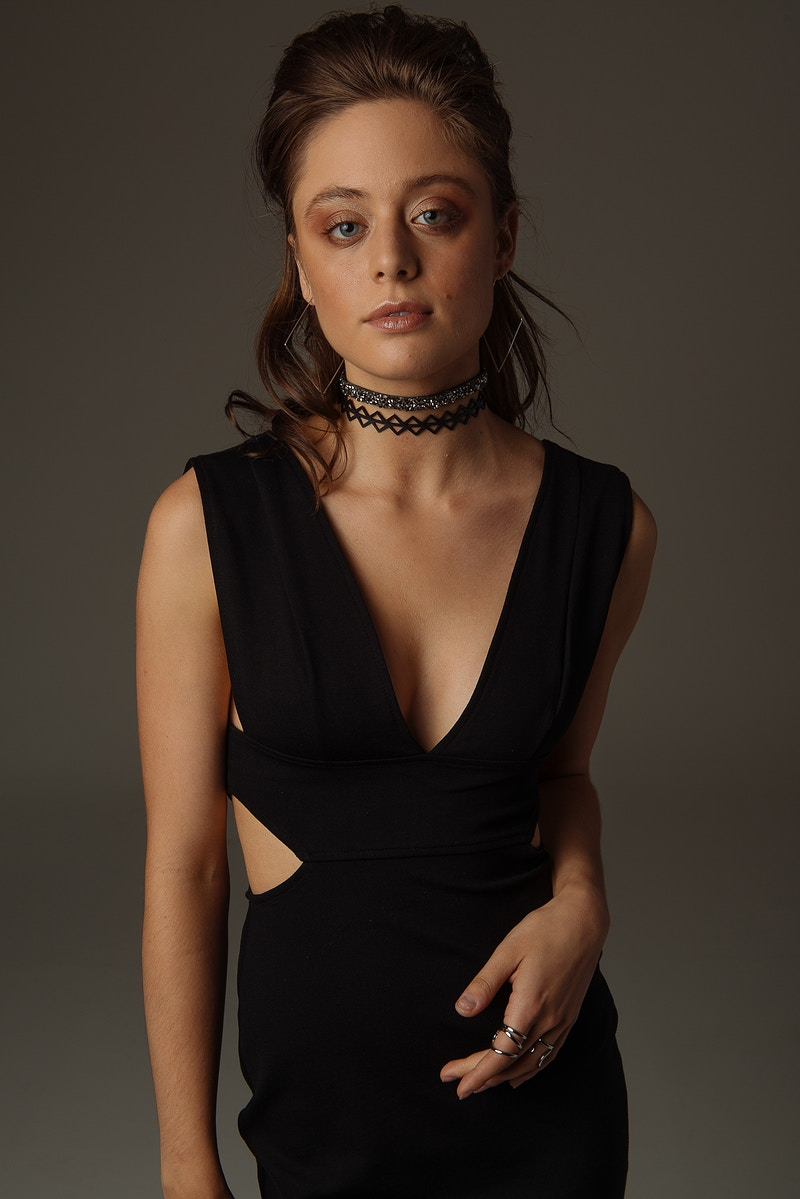 editorial fashion studio Marina Christine Adam Raymond Creer Studios Madison Mohn Agency Janelle Munro Free People Tobias Hibbs THP choker elegant - Editorial Fashion Portrait Photography Lehigh Valley Philadelphia | Tobias Hibbs