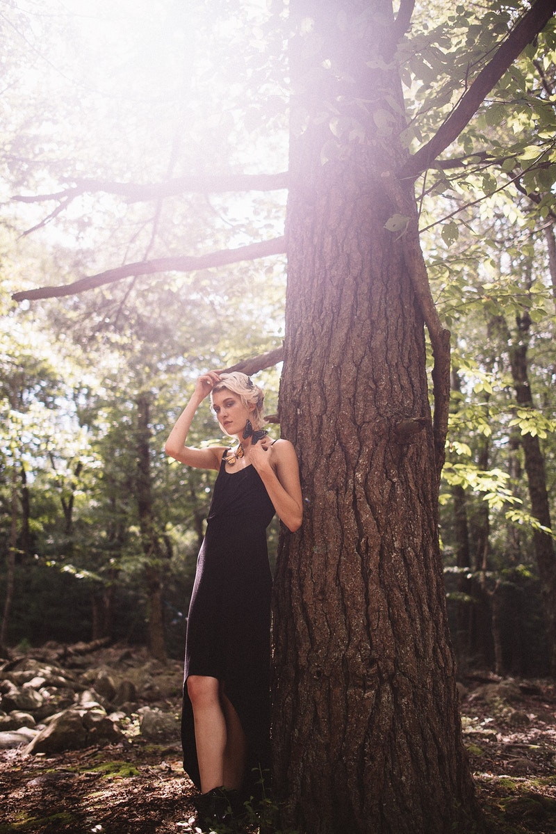 Wander Woman B Louder Magazine - Editorial Fashion Portrait Photography Lehigh Valley Philadelphia | Tobias Hibbs