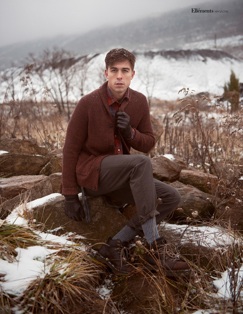 Mike Scocozza Katelynn Walsh THP Tobias Hibbs ANTM Next Top Model winter Palmerton PA snow - Editorial Fashion Portrait Photography Lehigh Valley Philadelphia | Tobias Hibbs