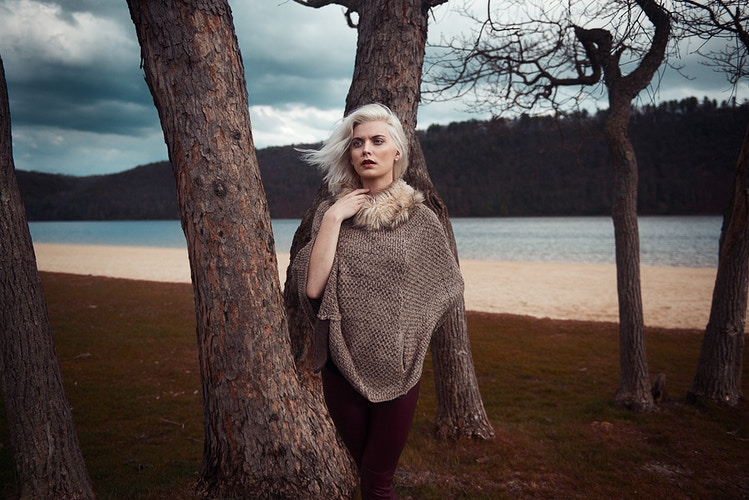 editorial fashion clouds lake storm Stormy Jane Beltzville State Park Tobias Hibbs THP trees - Editorial Fashion Portrait Photography Lehigh Valley Philadelphia | Tobias Hibbs