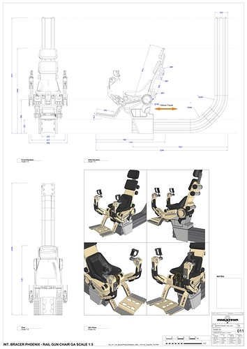 Bracer Phoenix ConnPod/Gun Turret - Tony Drew | Art Direction & Design