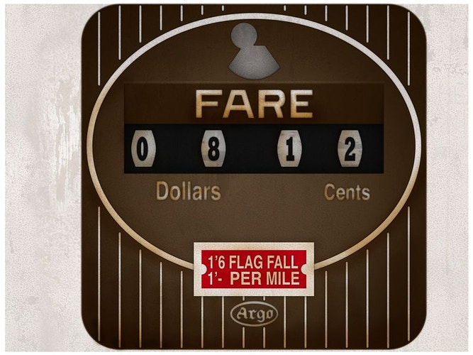 The Great Gatsby - Rendered Taxi Meter - Tony Drew | Art Direction & Design