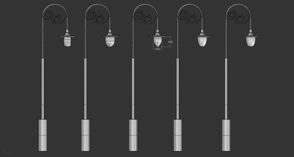 The Great Gatsby - Lamp Post designs - Tony Drew | Art Direction & Design