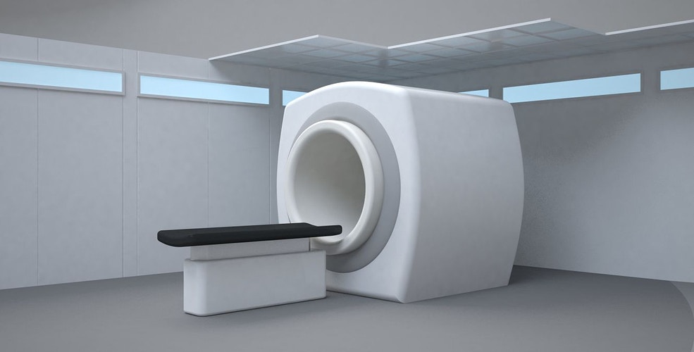 GE Medical - MRI set concept - Tony Drew | Art Direction & Design