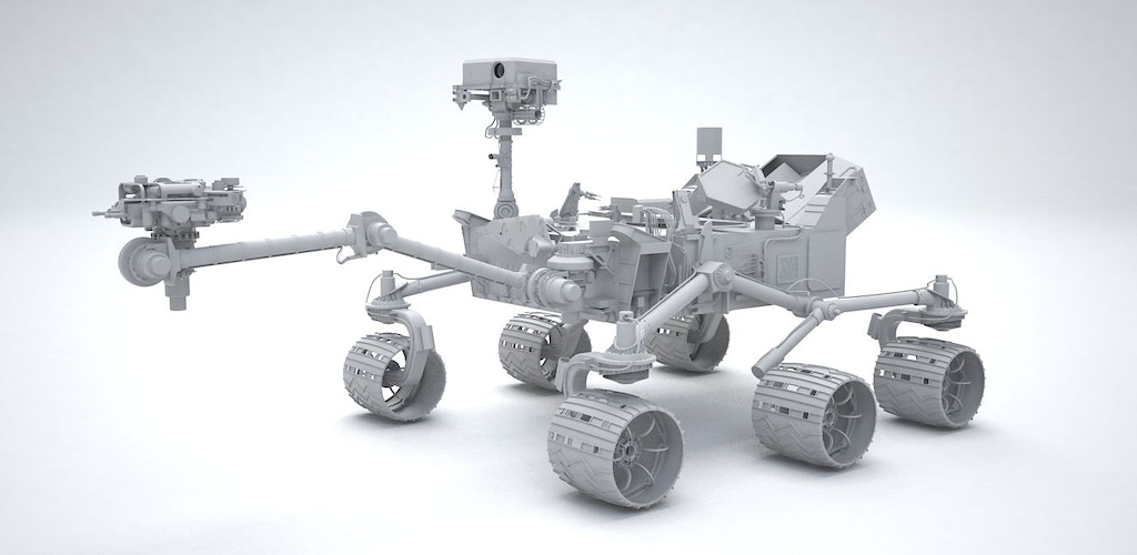 Qantas Frequent Flyer - Mars rover 'Curiosity' - Tony Drew | Art Direction & Design