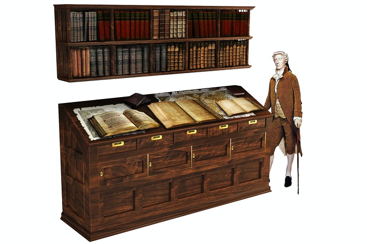 Ledgers Book Case - Tony Drew | Art Direction & Design