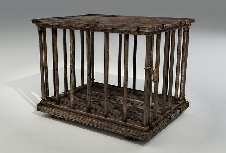 Essex Ship Cargo - Chook Cage - Tony Drew | Art Direction & Design