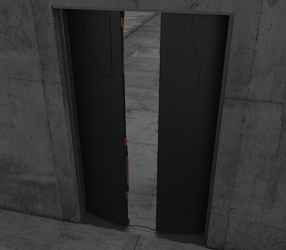 Major's Apartment Door Concept - Tony Drew | Art Direction & Design