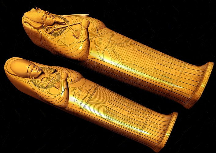 Osiris & Isis's Sarcophagus - Tony Drew | Art Direction & Design