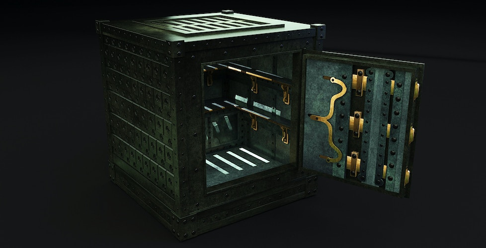 Bank Vault - Tony Drew | Art Direction & Design