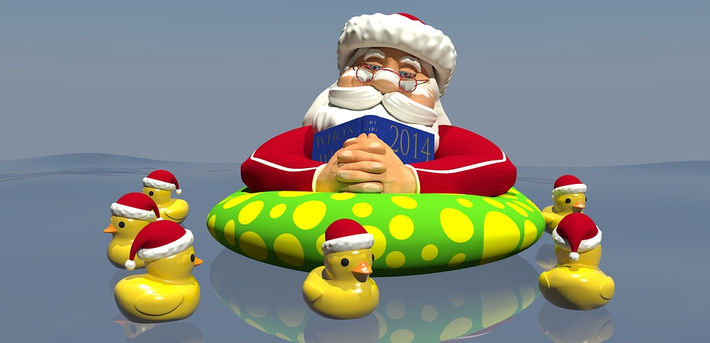Floating Santa Concept - Tony Drew | Art Direction & Design