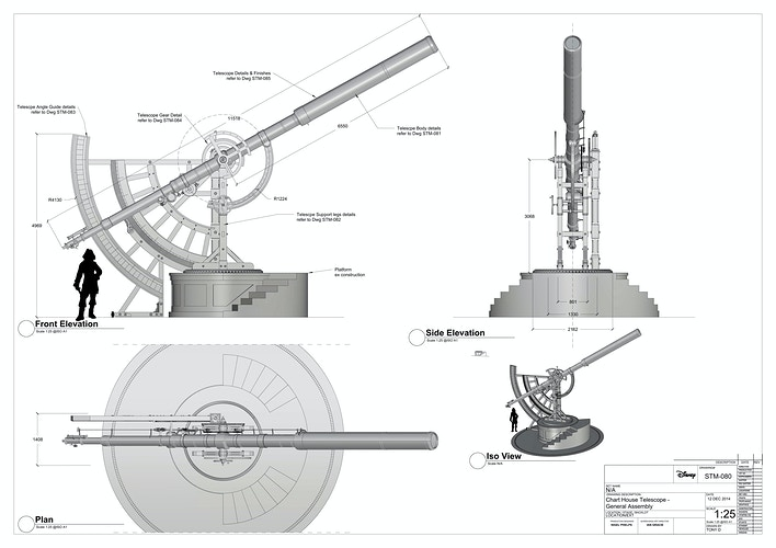 Chart House Telescope - Tony Drew | Art Direction & Design