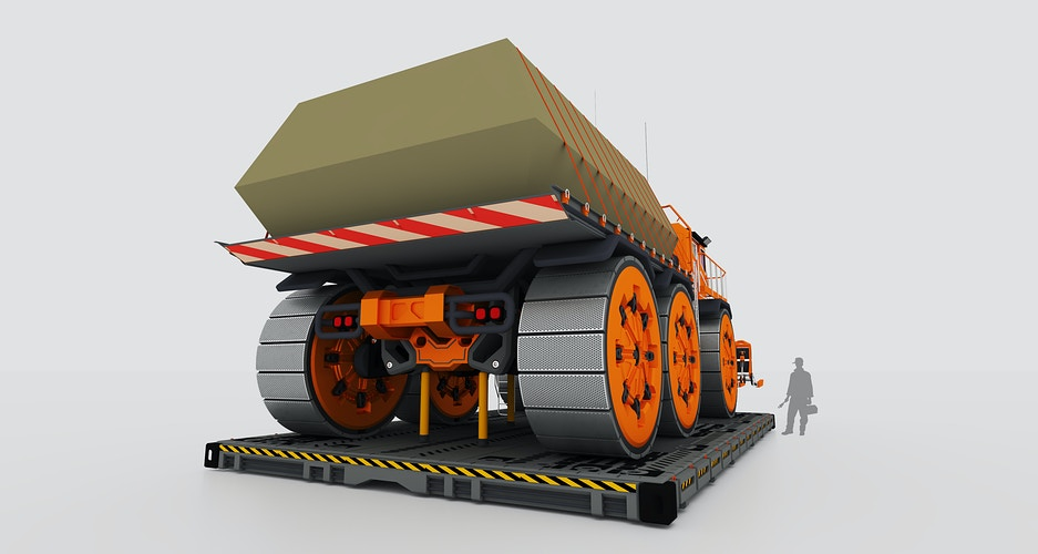 Terraforming Bay Truck - Tony Drew | Art Direction & Design