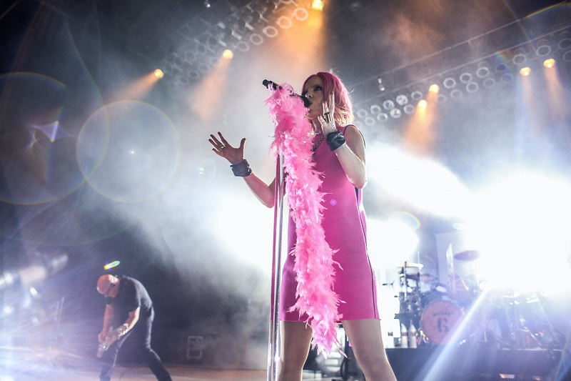 Garbage // The Greek Theatre - Los Angeles, CA - Tracy Vanessa