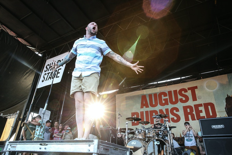 August Burns Red // Warped Tour - Pomona, CA - Tracy Vanessa