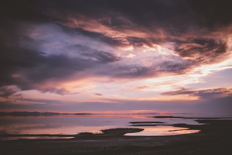 Antelope Island Sunset - Transcendent Productions