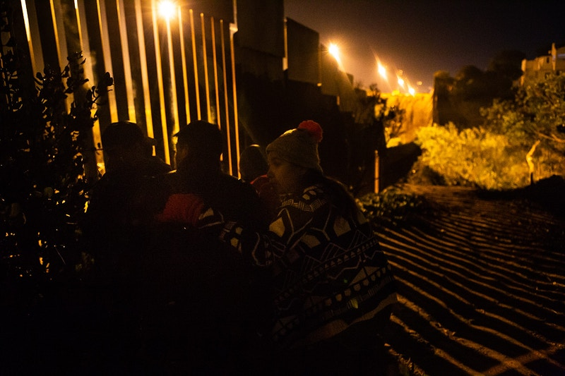 Desperation At The Us Mexico Border - TREY HORVATH