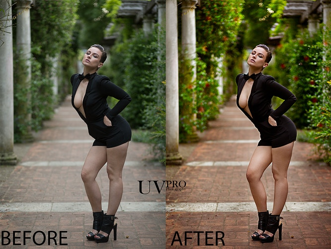 Before And After - UVPRO | Fashion Photography