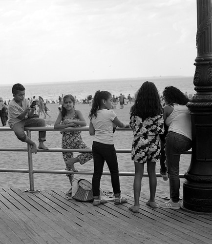 boardwalk kids make a space for themselves - Victor Cohen