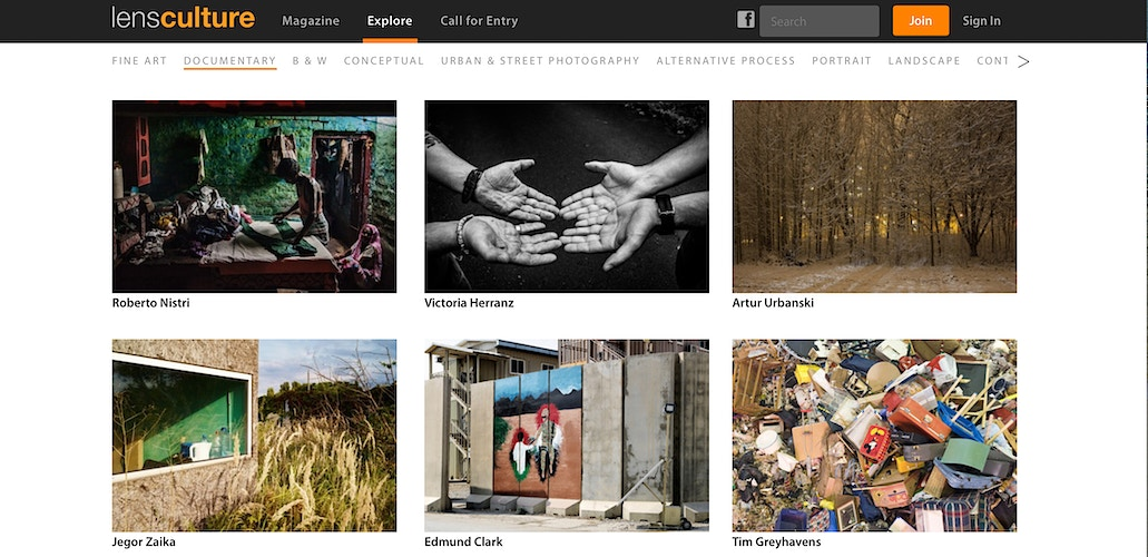 Online · In Another Place featured on LensCulture (USA) - VictoriaHerranz