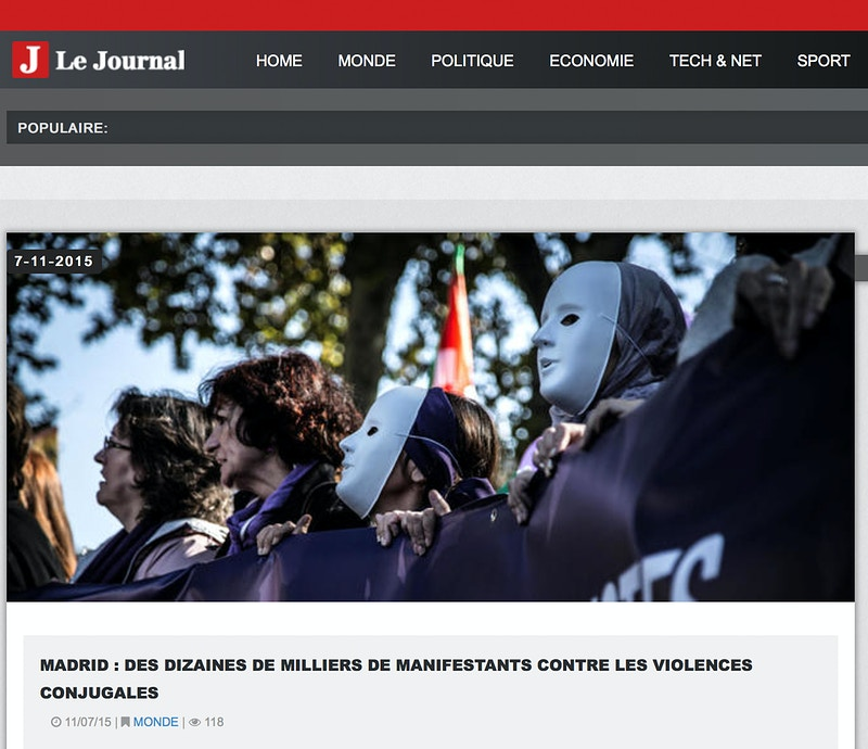 Breaking news for Le Journal (FR) - VictoriaHerranz