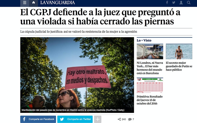 News from La Vanguardia (ES) - VictoriaHerranz