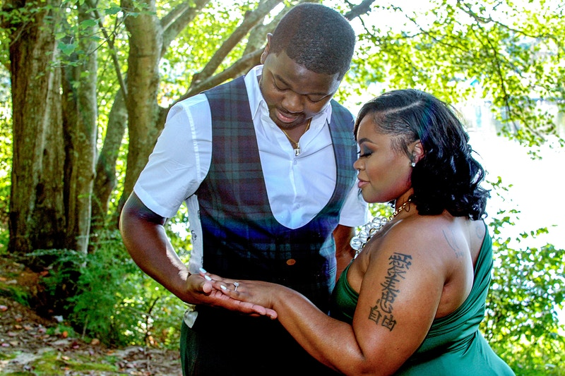 Molette And Willie Engaged - Walter Drayton Photography