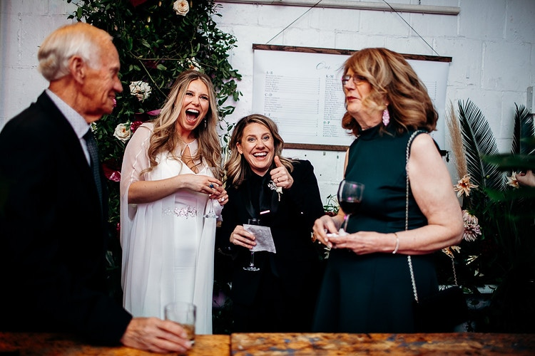 Cynthia And Tracie Bok Philadelphia - We Laugh We Love - Wedding Photography