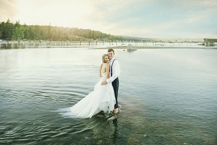 Jeanette & Joey - Lake Tahoe - We Laugh We Love - Wedding Photography