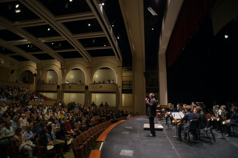 The New Performing Arts Center - William Dougall Photography