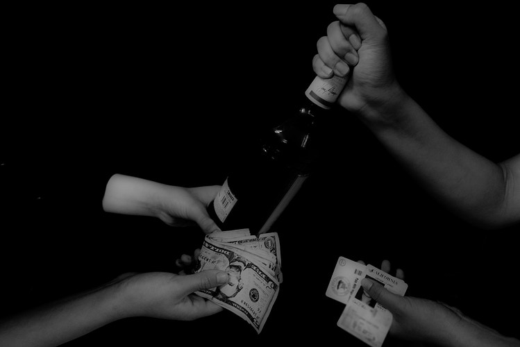 Underage Drinking - William Dougall Photography