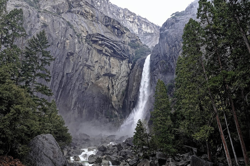 Yosemite Falls - William Porter