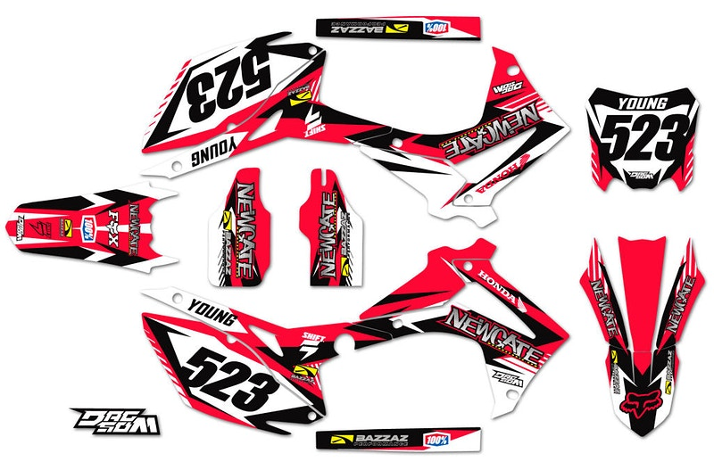 Newgate Motorsports Graphic Kit - Will Topete Photography & Design