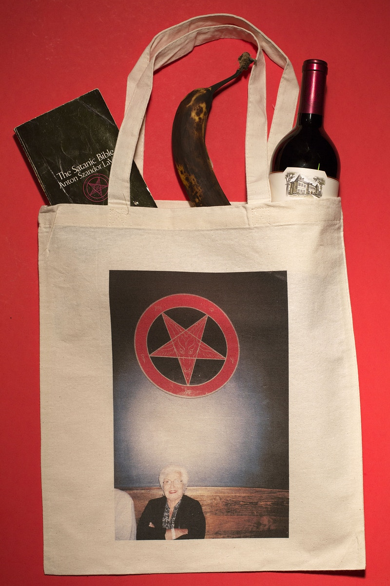 Satan Granny Tote - Whitley Stratton Photography