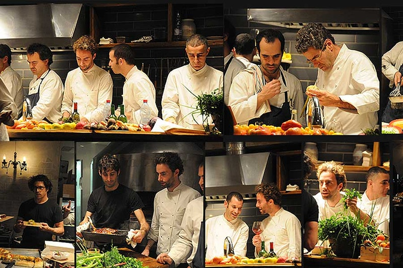 Chef Eyal Shani and Hasalon team - YULA-DESIGNS