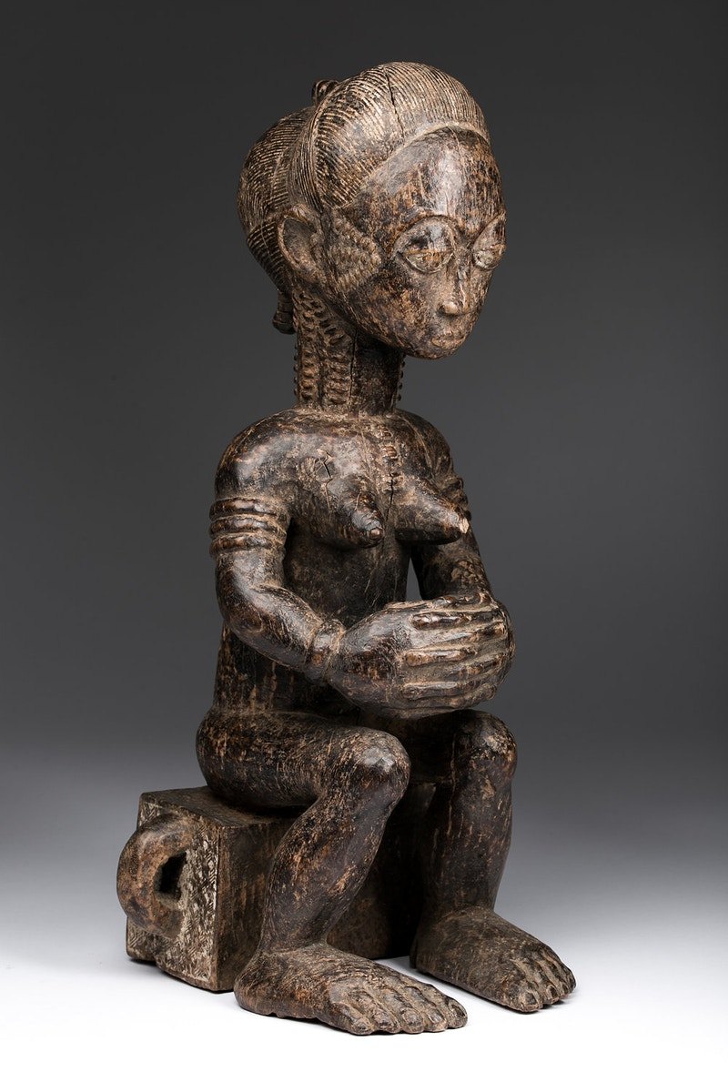 Galerie L&Z Arts - Baule figure - Tribal Art - Zajega Photo