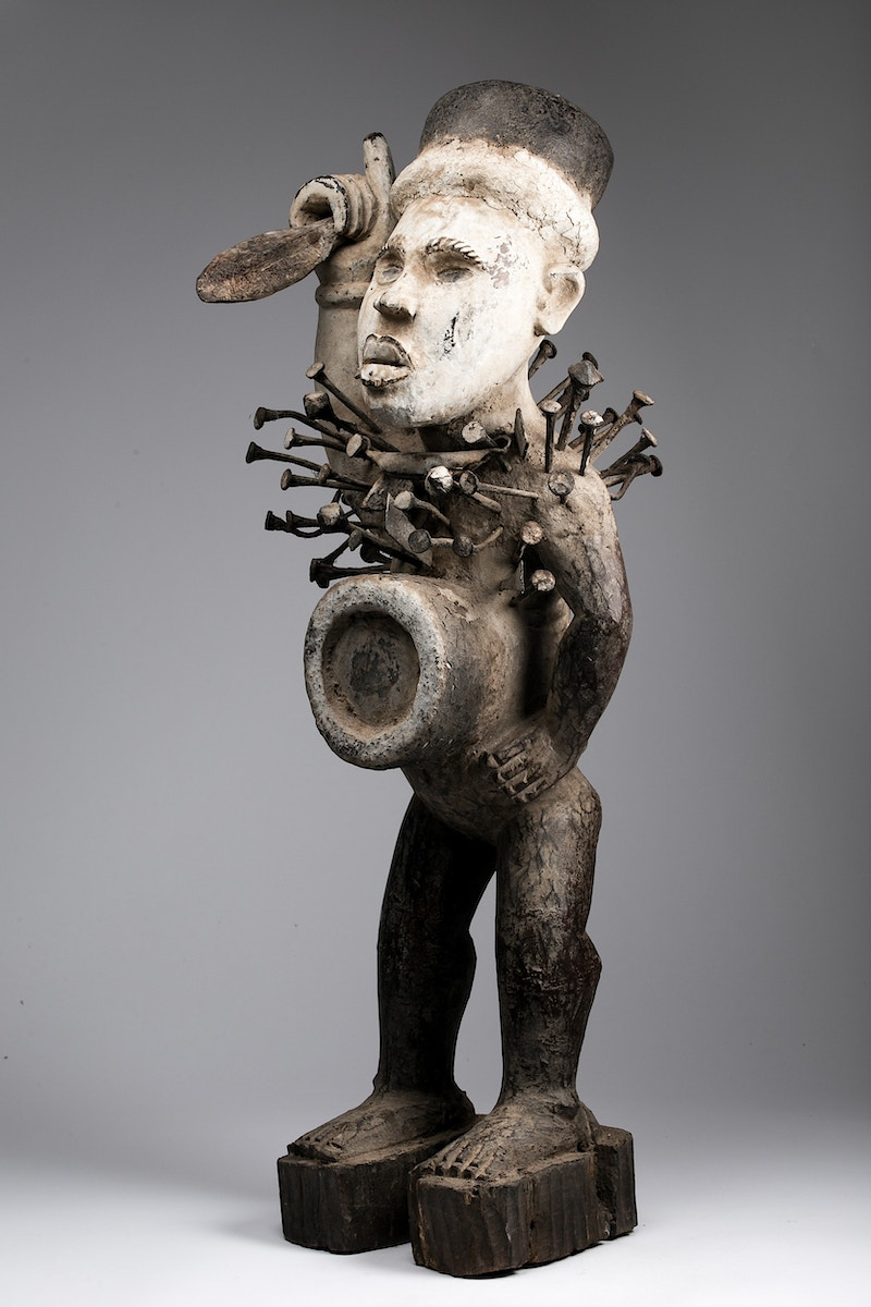 Galerie L&Z Arts - Kong Nkondi figure - Tribal Art - Zajega Photo
