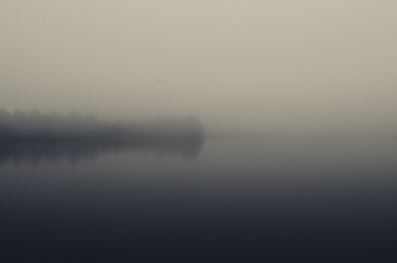 Grey (Minimal Visibility No. 7) - Zak Collins // Charleston Fine Art Photography