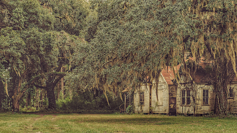 Ghost of the Old South - Zak Collins // Charleston Fine Art Photography